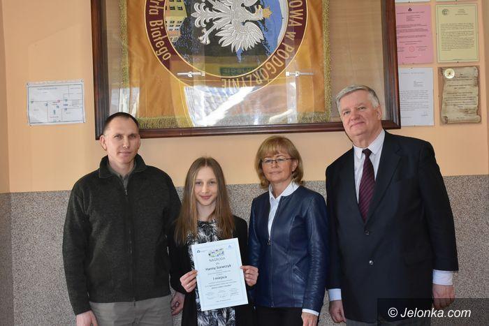 Podgórzyn: Hania Szewczyk wygrała konkurs literacki