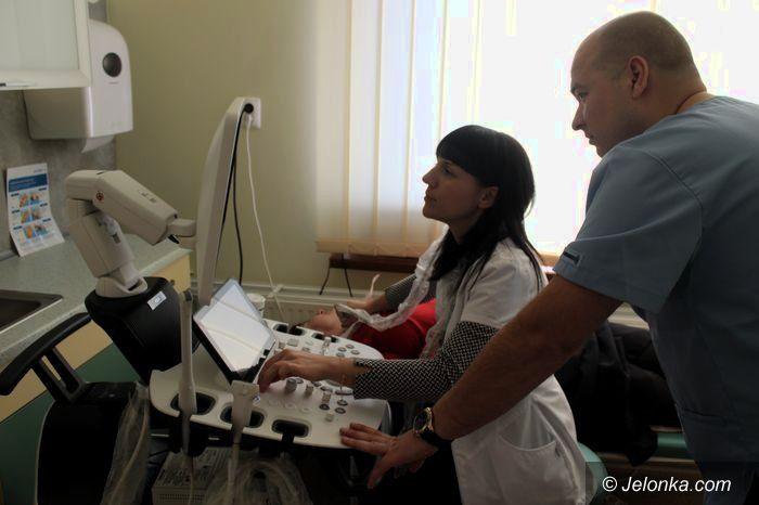 Mysłakowice: Nowy aparat USG w przychodni w Mysłakowicach