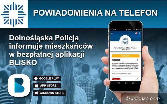 Region: Ostrzeżenia i bezpieczeństwo w telefonie