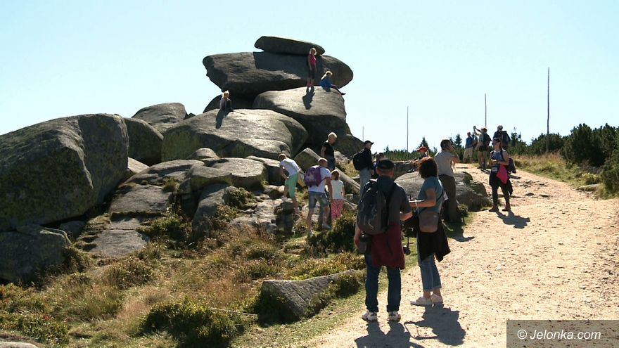 Region: Turystów w KPN (coraz) więcej