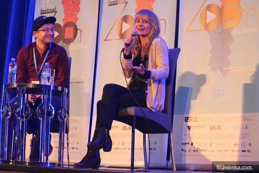 Jelenia Góra: Magdalena Cielecka gościła na festiwalu ZOOM