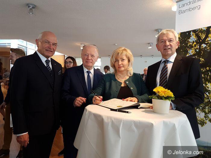 Powiat: Wizyta starostów w Bambergu