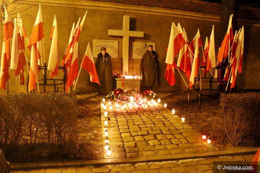 Jelenia Góra: Oddali cześć Żołnierzom Wyklętym