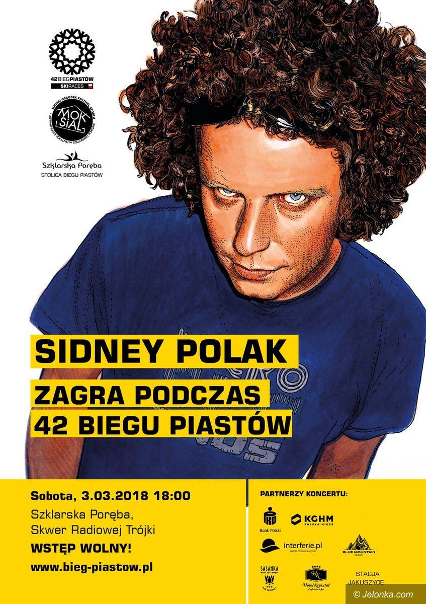Szklarska Poręba: Sidney Polak zagra podczas Biegu Piastów