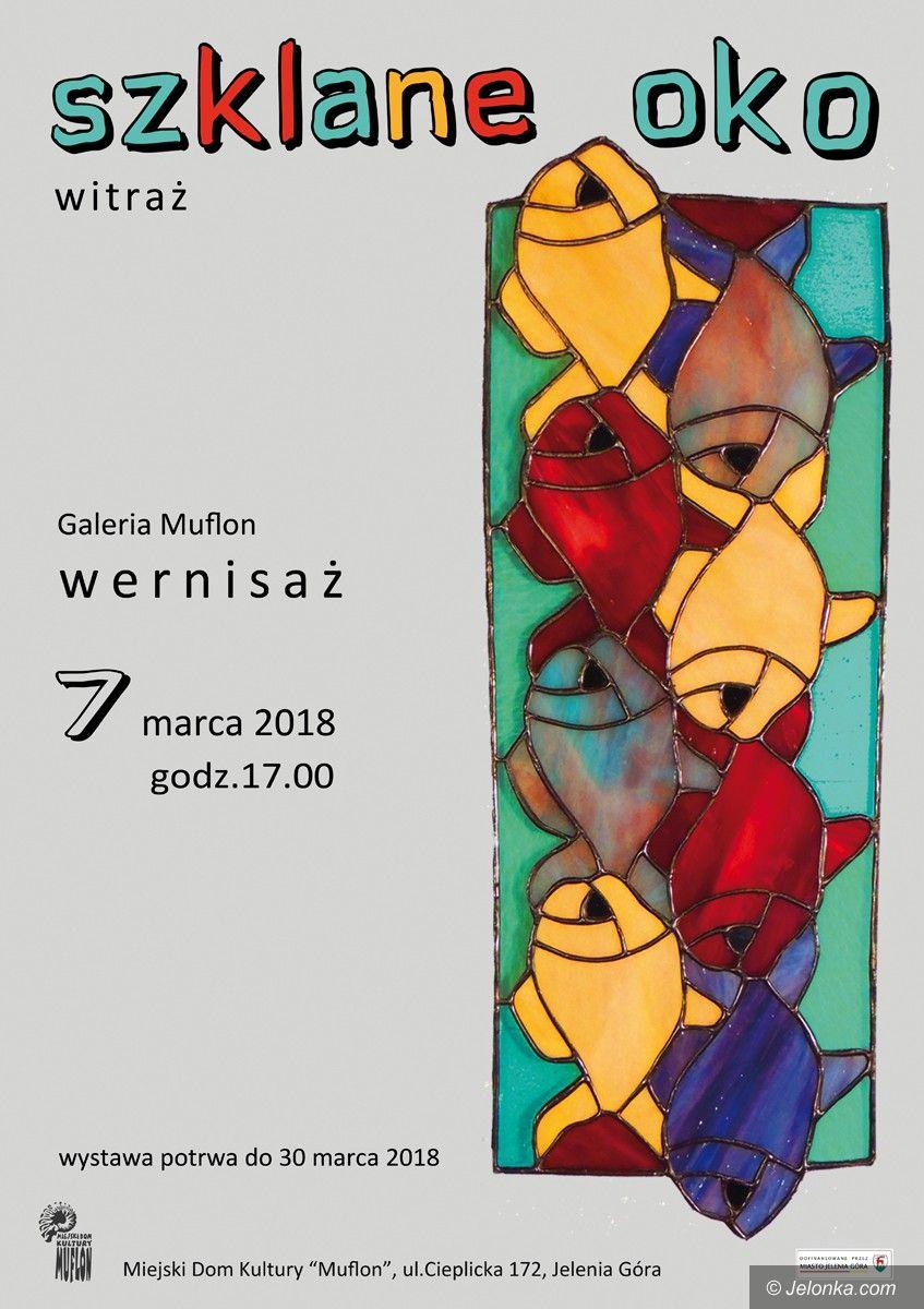 Jelenia Góra: Szklane oko, czyli witraż w Galerii Muflon
