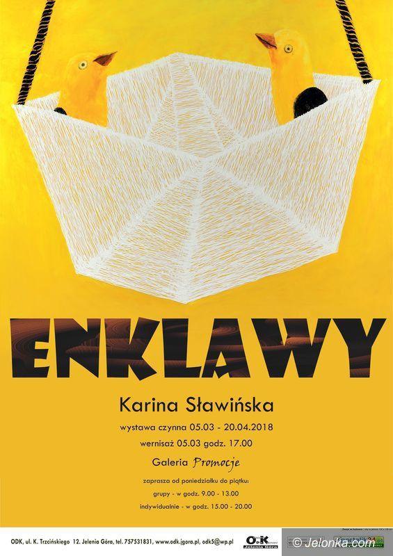 """Jelenia Góra: """"Enklawy"""" Kariny Sławińskiej – dzisiaj"""