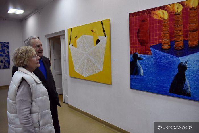 """Jelenia Góra: """"Enklawy"""" natury na wystawie Kariny Sławińskiej"""