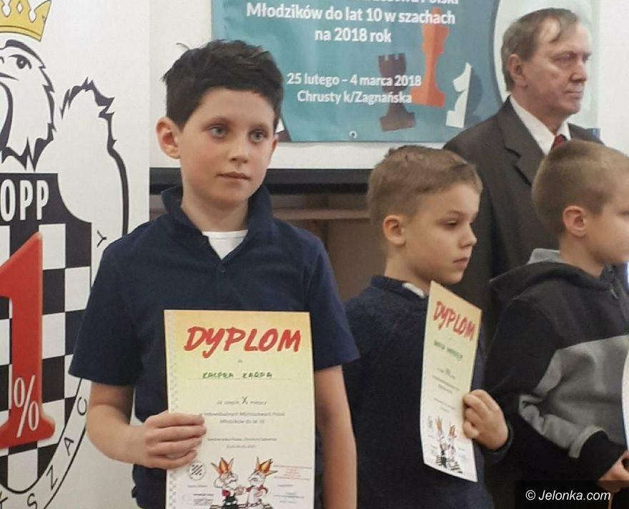 Chrusty: Kacper Karp dziesiąty w Polsce