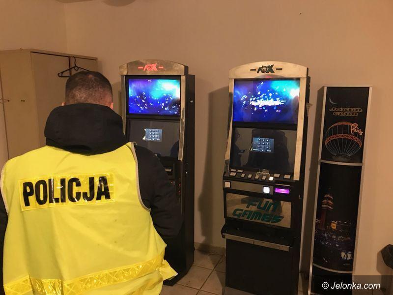 Jelenia Góra: Trzy automaty do gier zarekwirowane