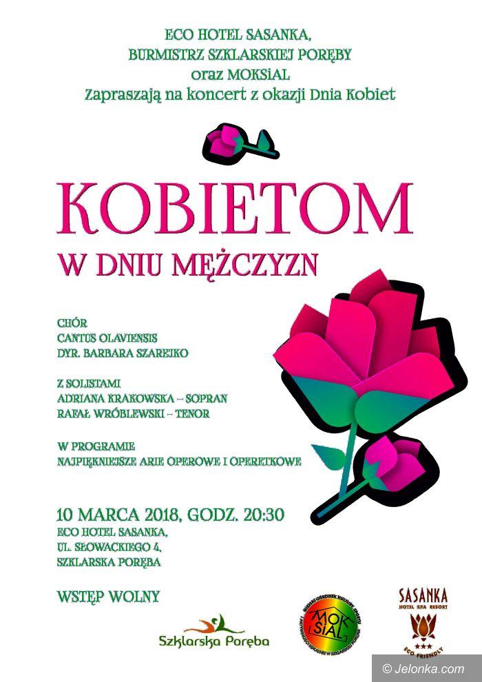 """Szklarska Poręba: Koncert """"Kobietom w Dniu Mężczyzny"""""""
