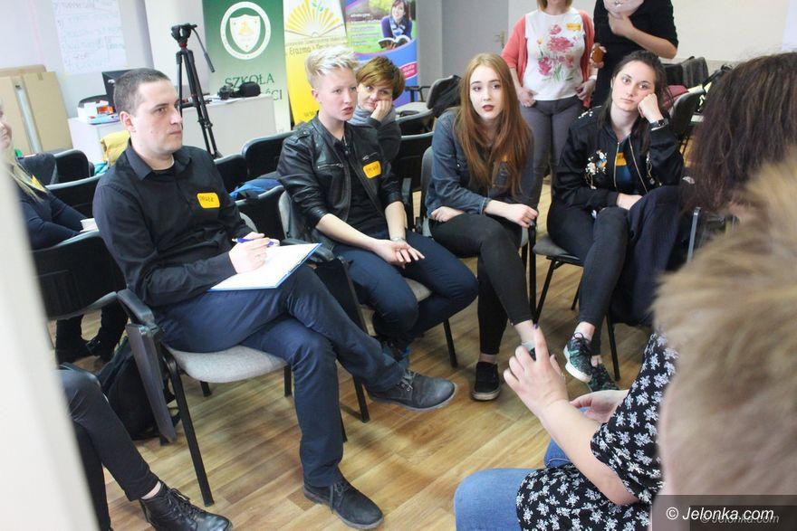 Jelenia Góra: Młodzież zabrała głos w sprawach miasta