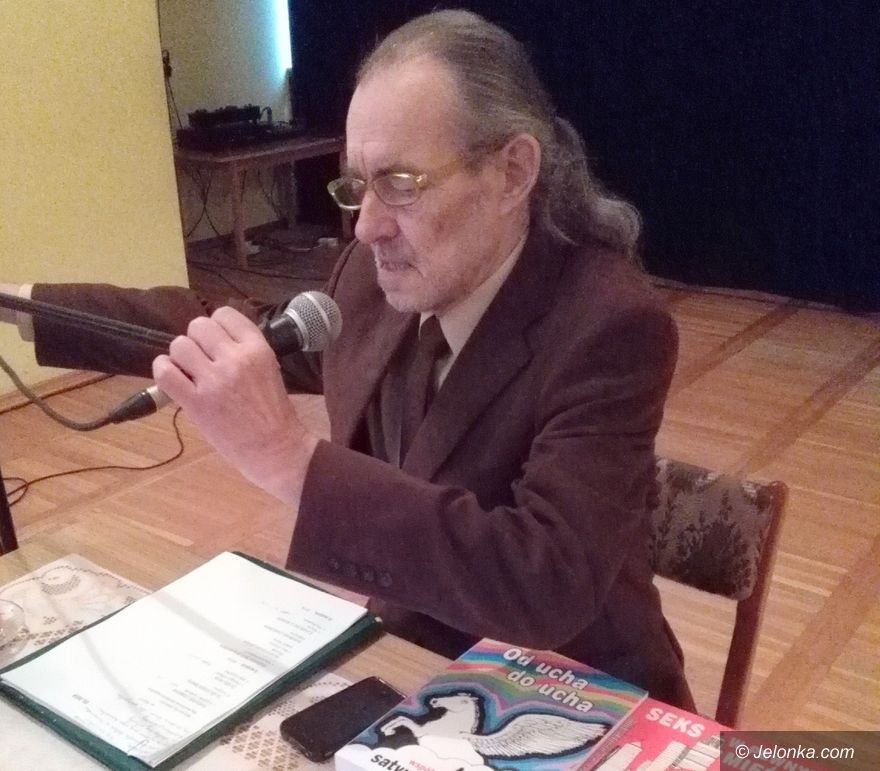 Jelenia Góra: ars limeryka z Hubertem Horbowskim w ODK