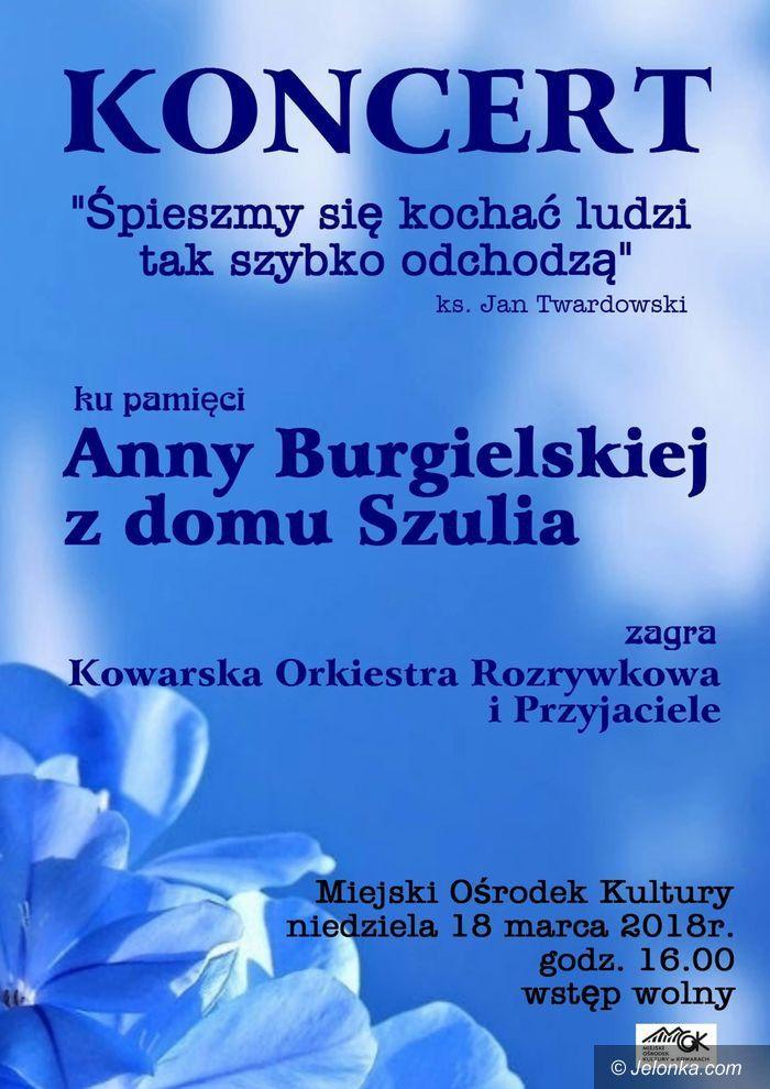 Kowary: Koncert pamięci Anny Burgielskiej w Kowarach