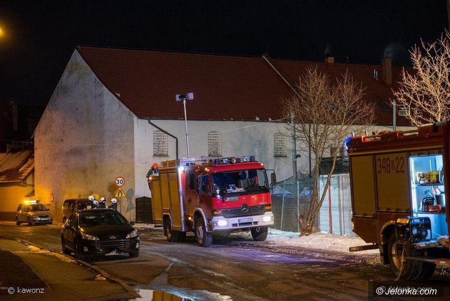 Jelenia Góra: Pożar na Anieli Krzywoń