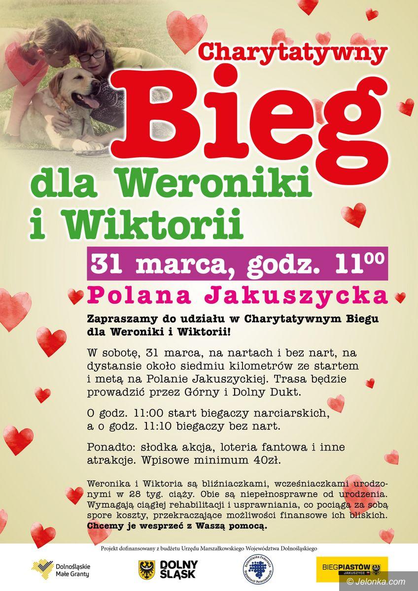 Polana Jakuszycka: Charytatywnie dla Wiktorii i Weroniki