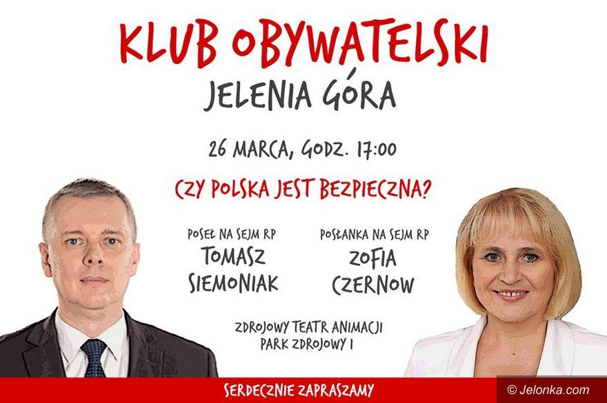 Jelenia Góra: Tomasz Siemoniak w Jeleniej Górze