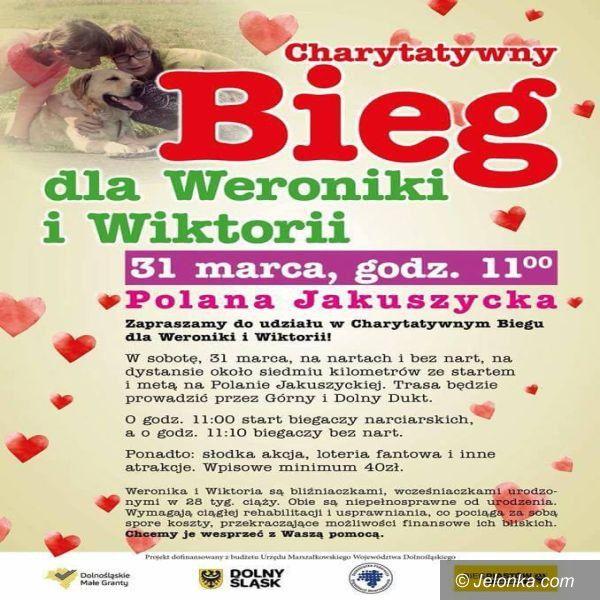 Polana Jakuszycka: Charytatywny Bieg dla Weroniki i Wiktorii