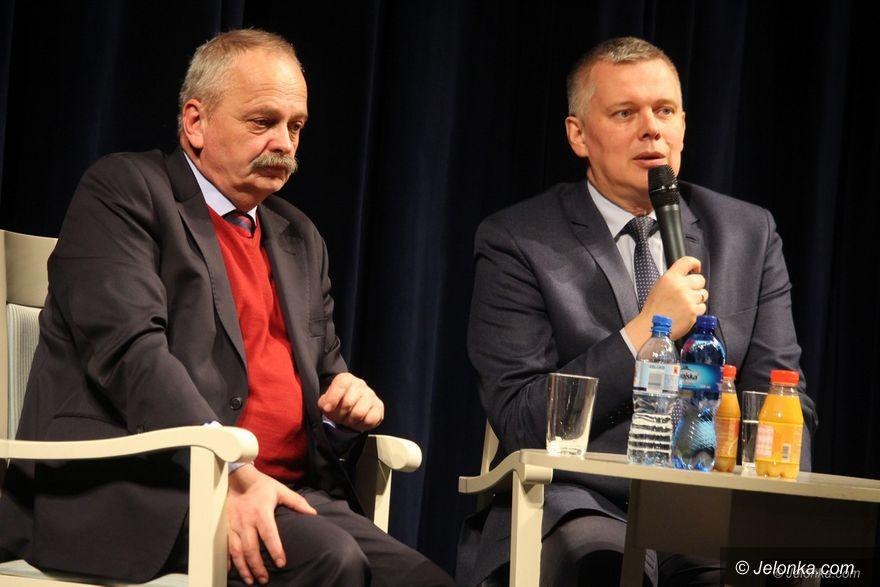 Jelenia Góra: Siemoniak o bezpieczeństwie i nie tylko