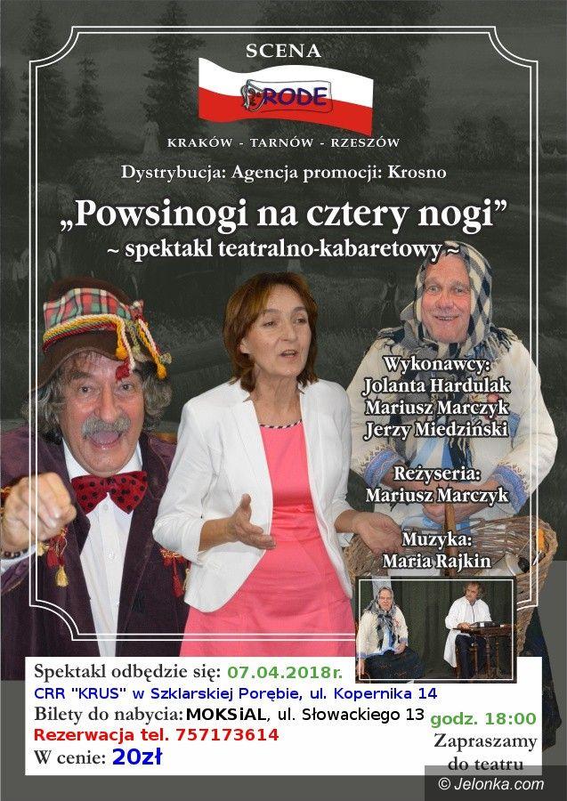Szklarska Poręba: Spektakl teatralno – kabaretowy w stylu retro