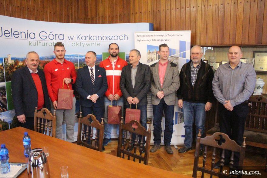 Jelenia Góra: Nasi olimpijczycy gościli w Ratuszu