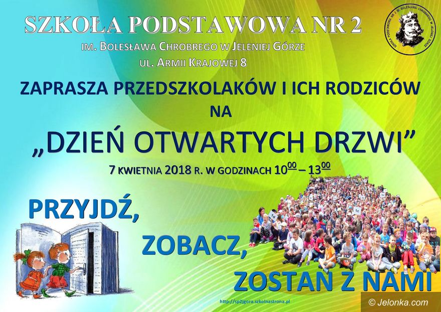 """Jelenia Góra: Jeleniogórska """"Dwójka"""" otwiera drzwi"""