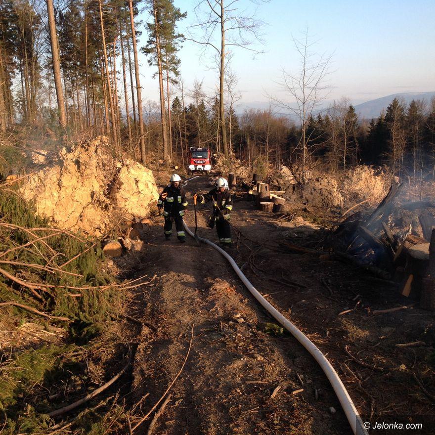 Jelenia Góra: Pożar na Gapie