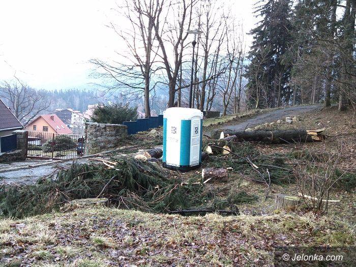 Karpacz: Wichura narobiła szkód w Karpaczu