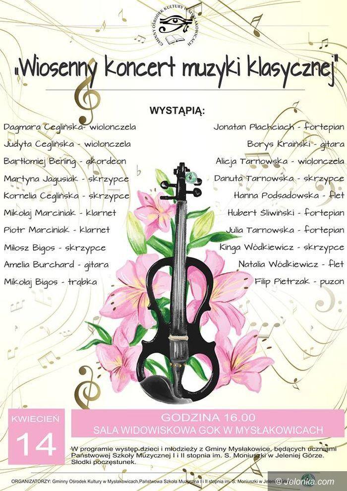 Mysłakowice: Wiosenne spotkanie z muzyką klasyczną – jutro
