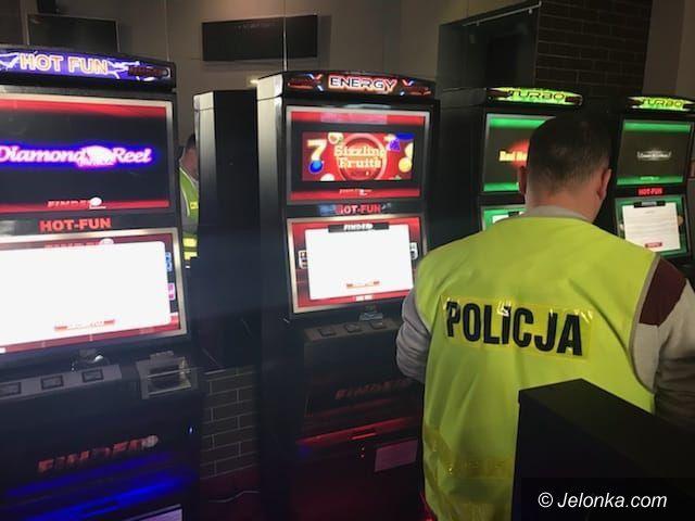 Jelenia Góra: Automaty do gier hazardowych zarekwirowane