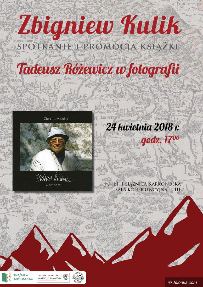 Karpacz: Tadeusz Różewicz na zdjęciach Zbigniewa Kulika