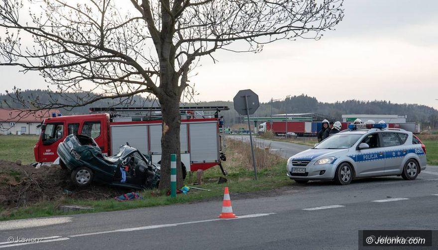 Region: Wypadek w Łomnicy