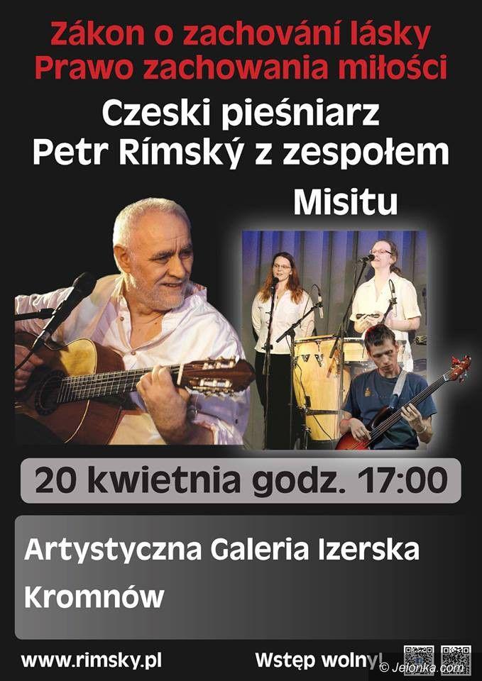 Region: Koncert czeskiego barda w Galerii Izerskiej