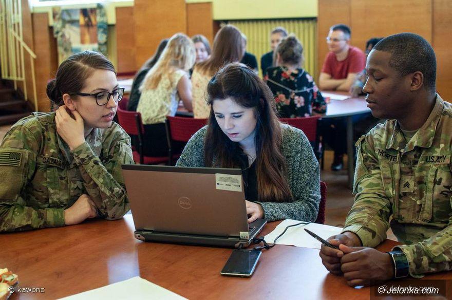 Jelenia Góra: Żołnierze amerykańscy w Ekonomie
