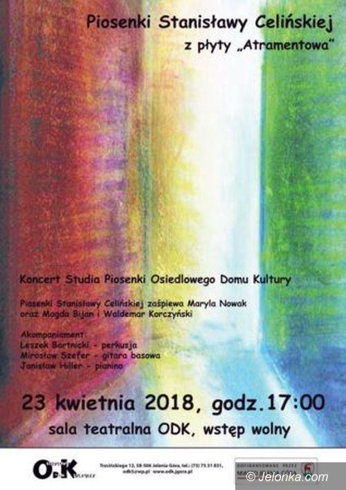 Jelenia Góra: Koncert piosenek Stanisławy Celińskiej w ODK