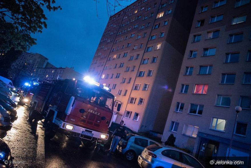 Jelenia Góra: Akcja ratunkowa na Zabobrzu