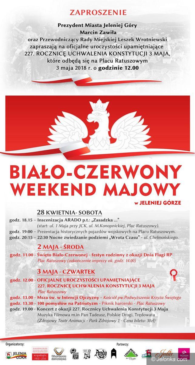 Jelenia Góra: Biało–czerwony weekend majowy