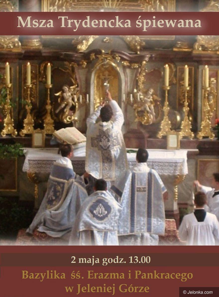 Jelenia Góra: Msza Trydencka w bazylice