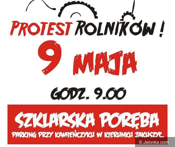 Region: Jutro protest rolników