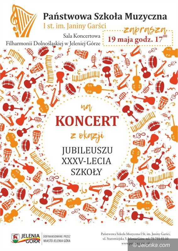 Jelenia Góra: Koncert na jubileusz szkoły muzycznej