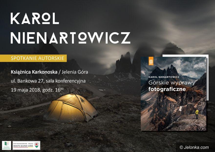 Jelenia Góra: Karol Nienartowicz w sobotę w Książnicy