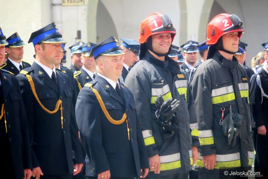 Jelenia Góra: Strażacy świętowali