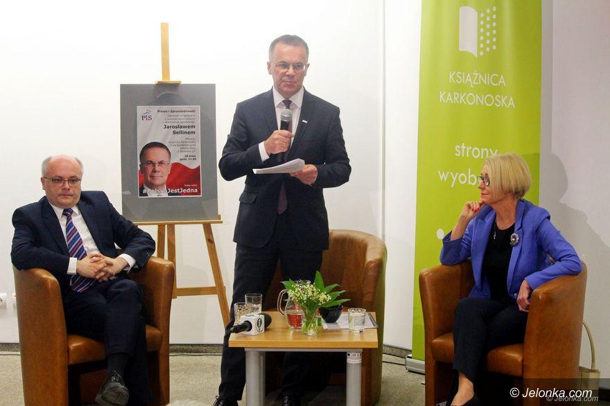 Jelenia Góra: Krótko z wiceministrem Jarosławem Sellinem