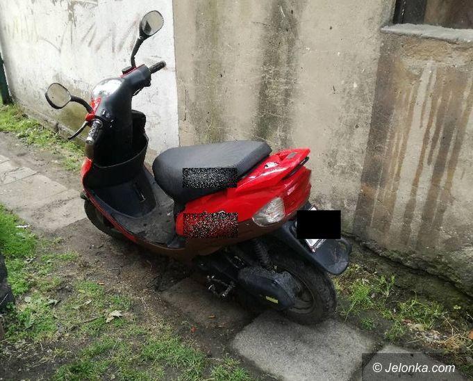 Jelenia Góra: Zatrzymana za kradzież motoroweru