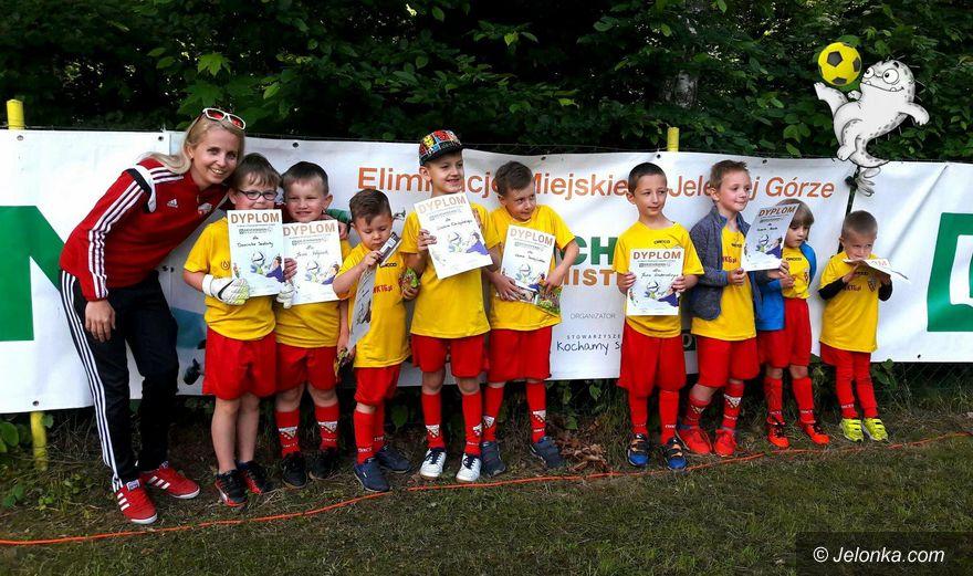 Jelenia Góra: Młodzi piłkarze w akcji