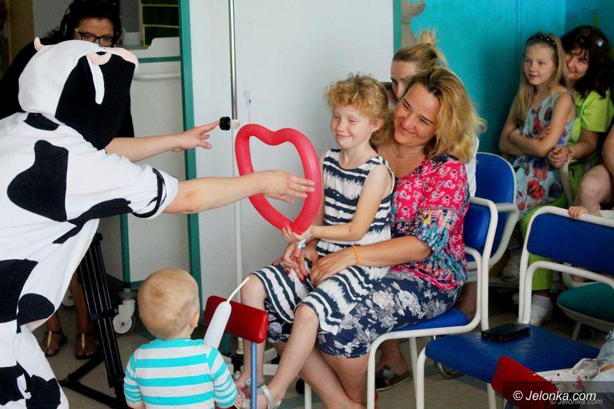 Jelenia Góra: Uśmiechy na pediatrii