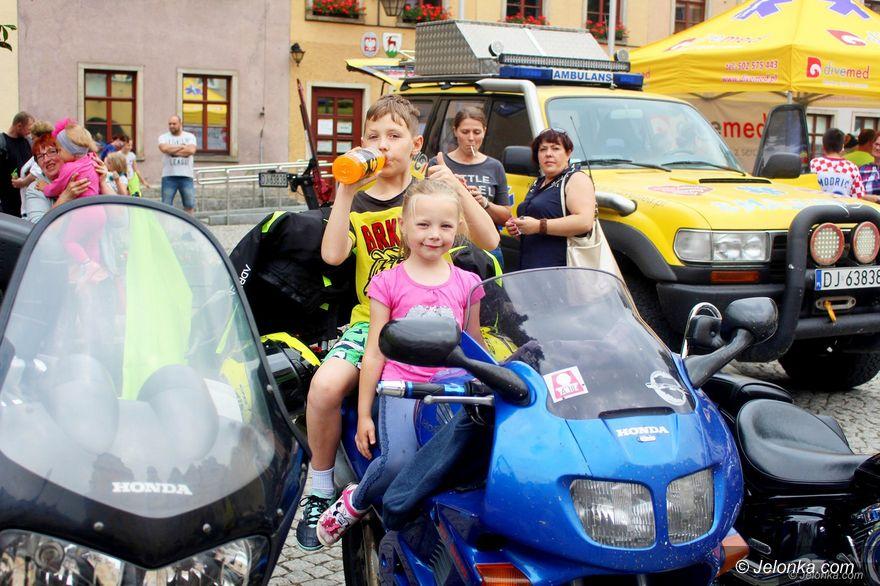 Jelenia Góra: Motocykliści dzieciom