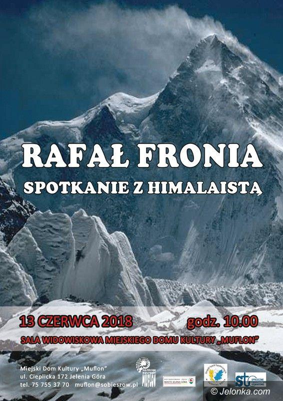 """Jelenia Góra: Rafał Fronia w """"Muflonie"""""""