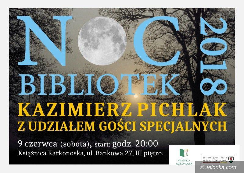 Jelenia Góra: Noc bibliotek z Kazimierzem Pichlakiem