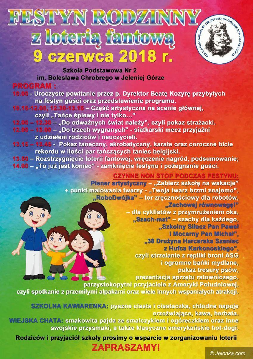 Jelenia Góra: Festyn Rodzinny Dwójki w sobotę