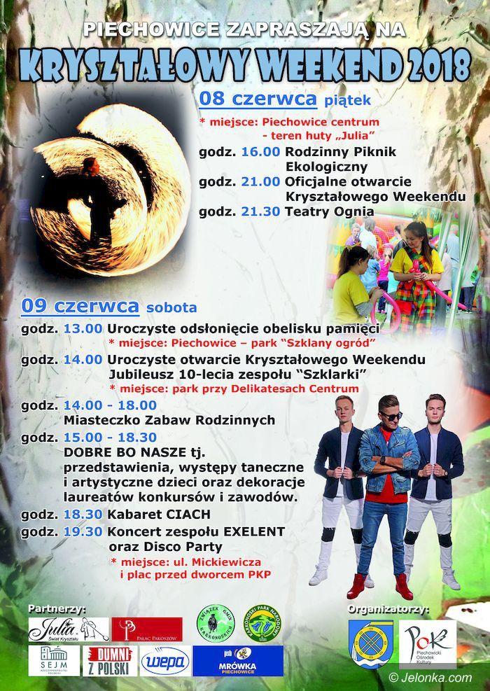Piechowice: Zaproszenie na Kryształowy Weekend